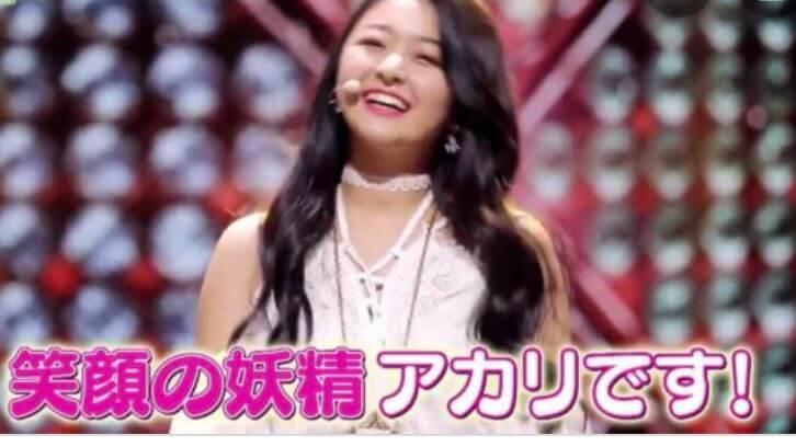 虹プロ・アカリの笑顔