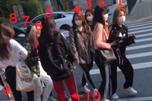 マスクした虹プロメンバー10人