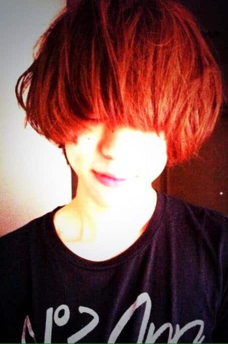 首藤義勝の髪型