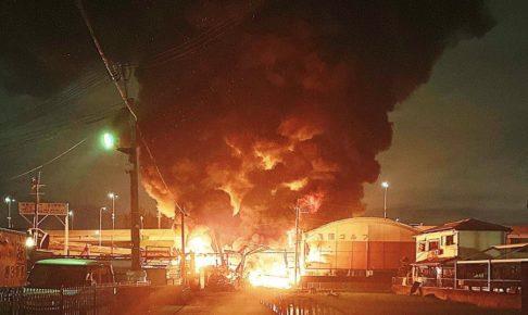 高槻柱本の爆発
