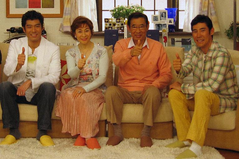 高嶋政宏の家族画像