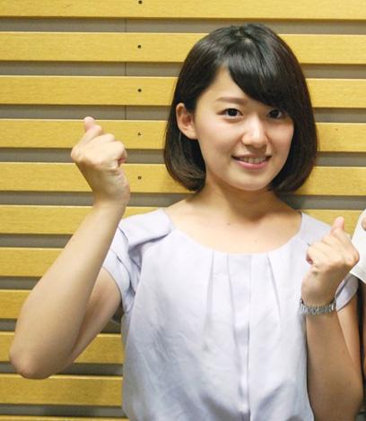 尾崎里紗アナの可愛い画像