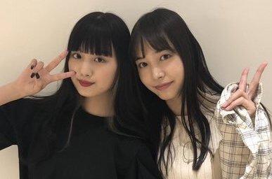 鶴嶋乃愛と井桁弘恵