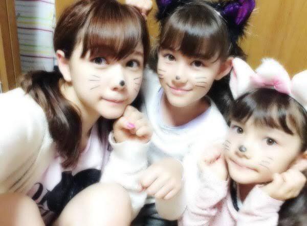 ハーフで可愛い村重杏奈と妹