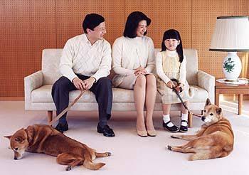 動物を飼う両陛下