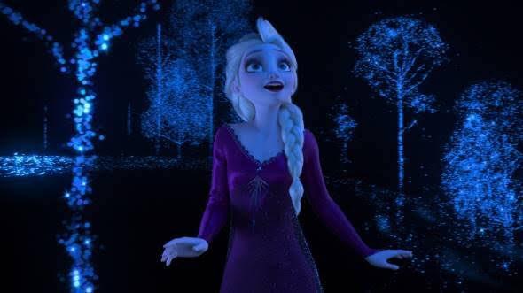 アナと雪の女王2のエルサ