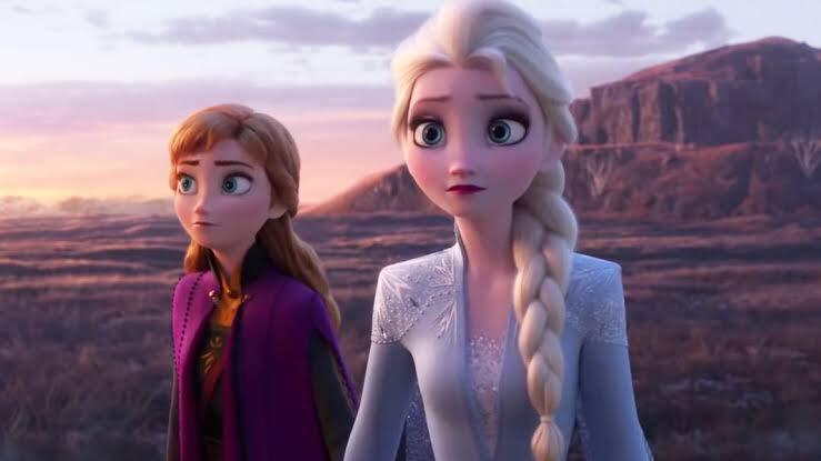 アナと雪の女王2のエルサとアナ