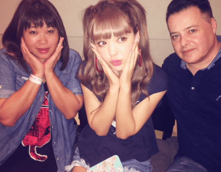 藤田ニコルの父と母