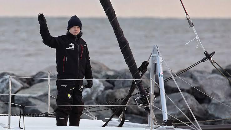 ヨットのグレタ