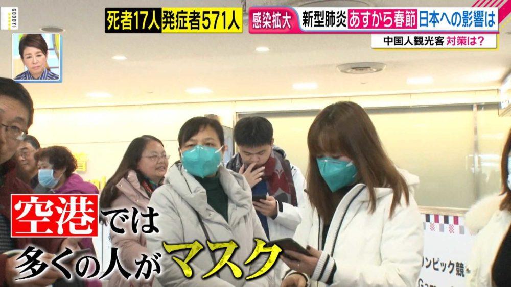 中国人のマスク事情