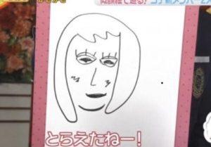 田中圭が描いた似顔絵