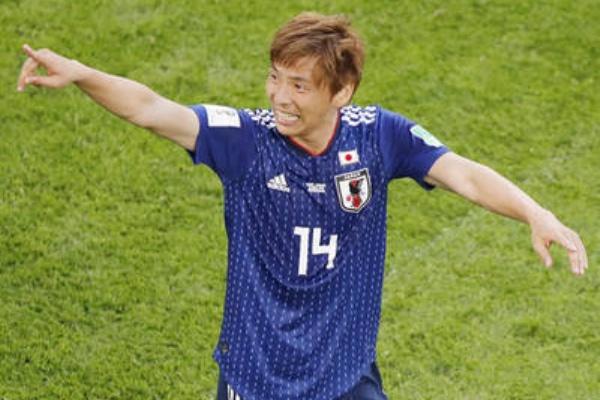 サッカー日本代表・乾貴士