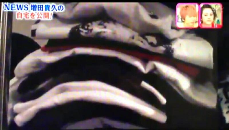 増田貴久の服のたたみ方