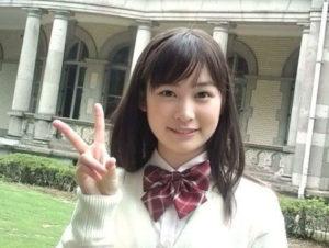 タレント時代の岩田絵里奈アナ