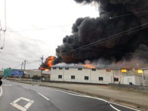 野田市の火事