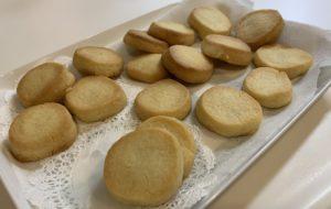 自粛中に作ったクッキー