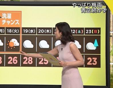 報道ステーションの森川夕貴アナ
