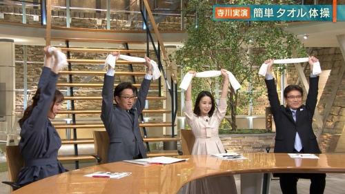 森川夕貴アナのタオル体操