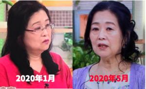 岡田晴恵の髪型の変化