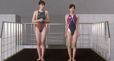 長澤まさみの競泳水着