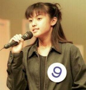 13歳の深田恭子