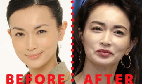 長谷川京子の顔を2つ比較