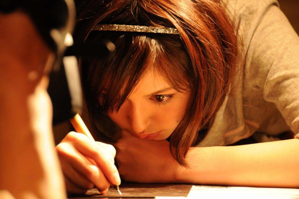 画家の小松美羽