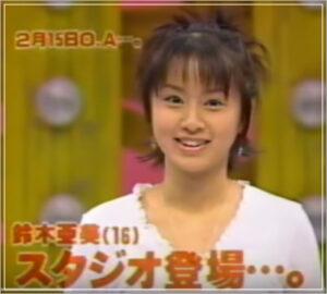 鈴木亜美 顔 変化